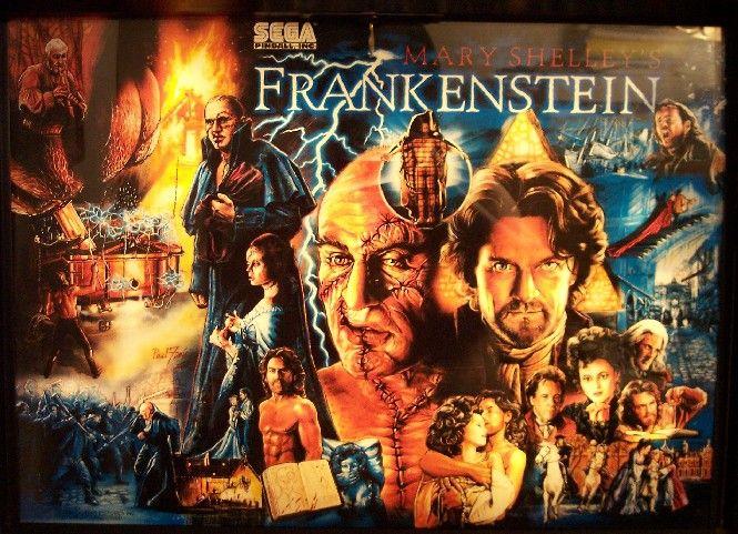 Frankenstein Back glass